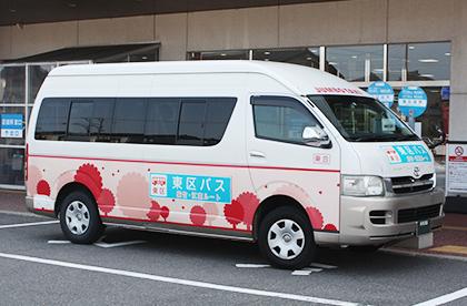 新潟市東区・区バス(紫竹・江南ルート)のバス写真