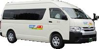 秋葉区路線バス(下新線)のバス写真